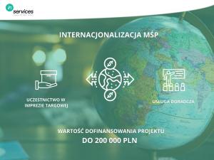"""Dotacja dla przedsiębiorstw """"Internacjonalizacja MŚP z woj. śląskiego"""""""
